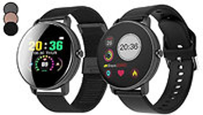P8 Touch Screen Smart Watch - 2 Strap Options & 3 Colours