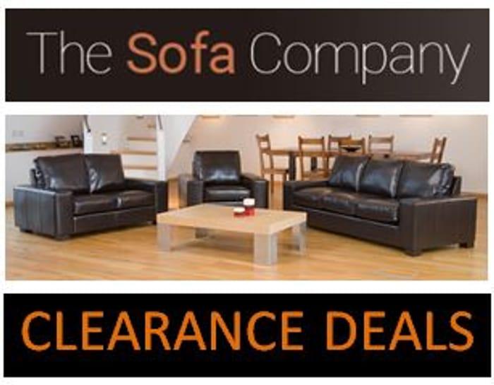 CHEAP! The Sofa Company - CLEARANCE SOFAS