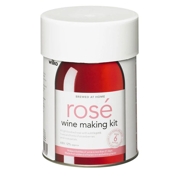 Wilko Rose Wine Making Kit