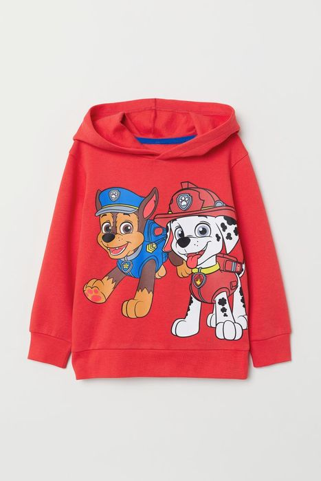 Boys Printed Hooded Top Size 8-10Y Now £8
