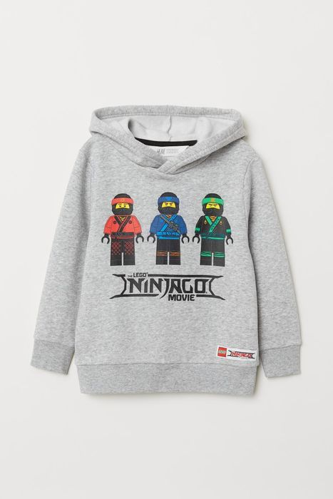 Boys Printed Hooded Top Size 3-4Y Now £9
