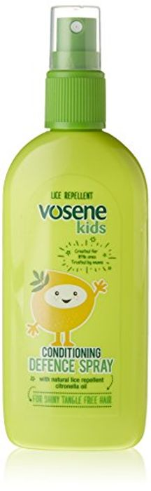 Vosene Kids Conditioning Defence Spray Head Lice Repellent 150 Ml