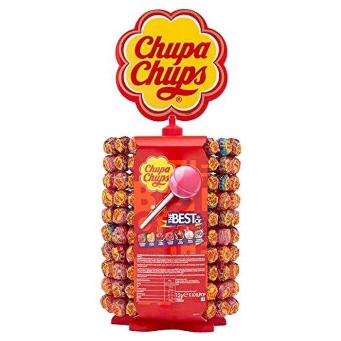 Chupa Chups Carousel 180 + 20 Lollipops