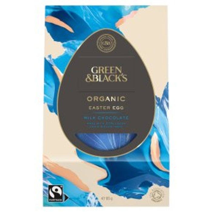 Green & Black's Organic Milk Chocolate Easter Egg165g