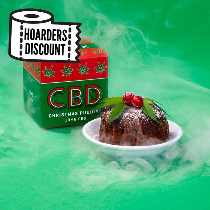 CBD Christmas Pudding at Firebox - Only £3.99!