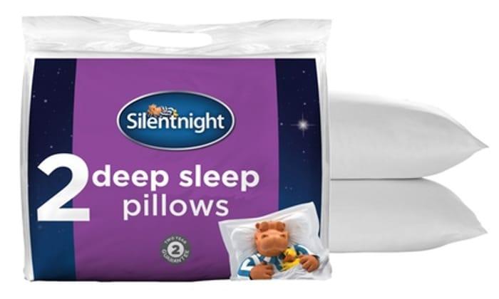 Six Silentnight Deep Sleep Pillows