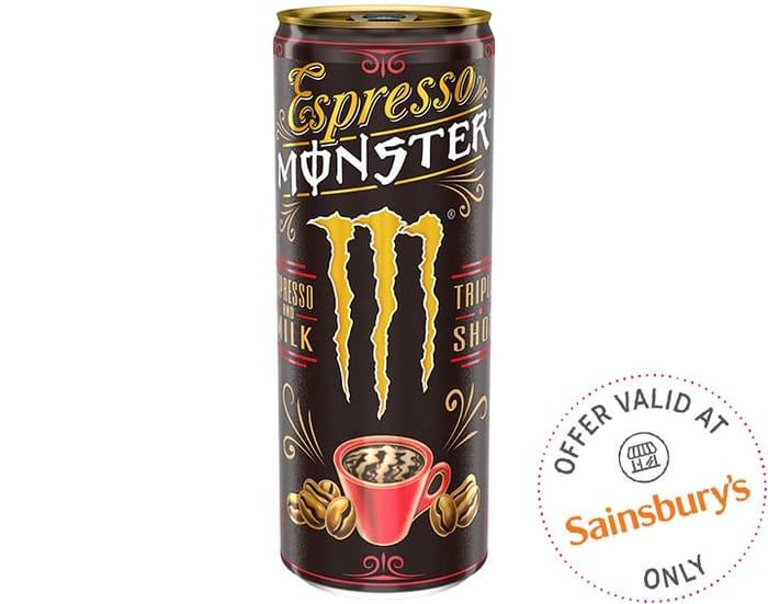 Espresso Monster Drink FREE