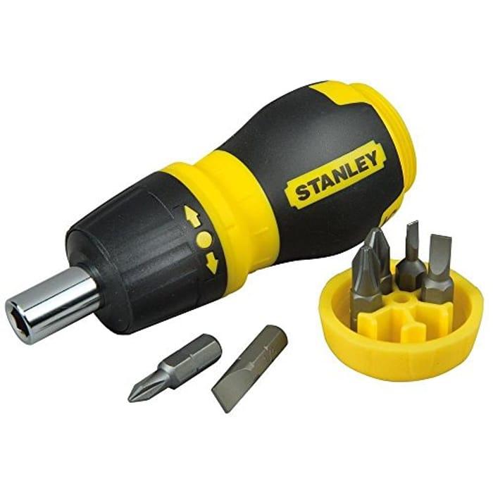 Stanley 066358 Multi-Bit Stubby Screwdriver [Energy Class A]