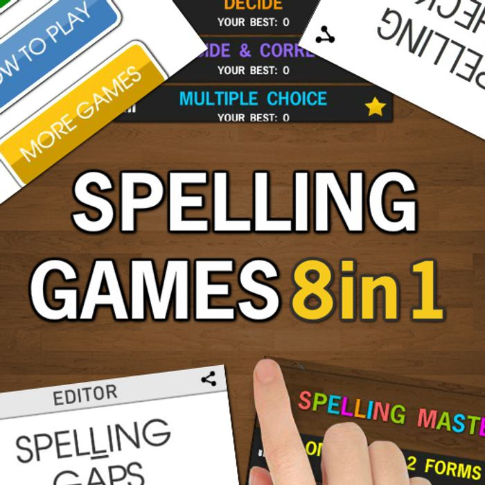 Free Spelling Games PRO - 8 in 1 Android Game (Was £1.59)