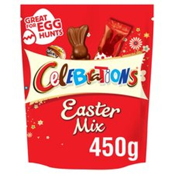 5Creme Eggs£0.41/12Creme Eggs £1/Celebrations Easter450g 61p,more in Description