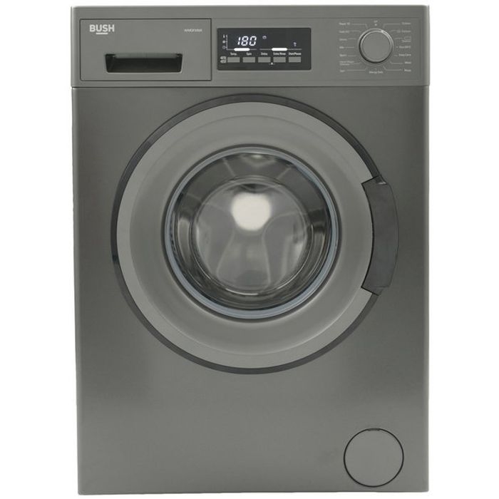 Bush 8KG 1400 Spin Washing Machine - Dark Inox Only £189.99