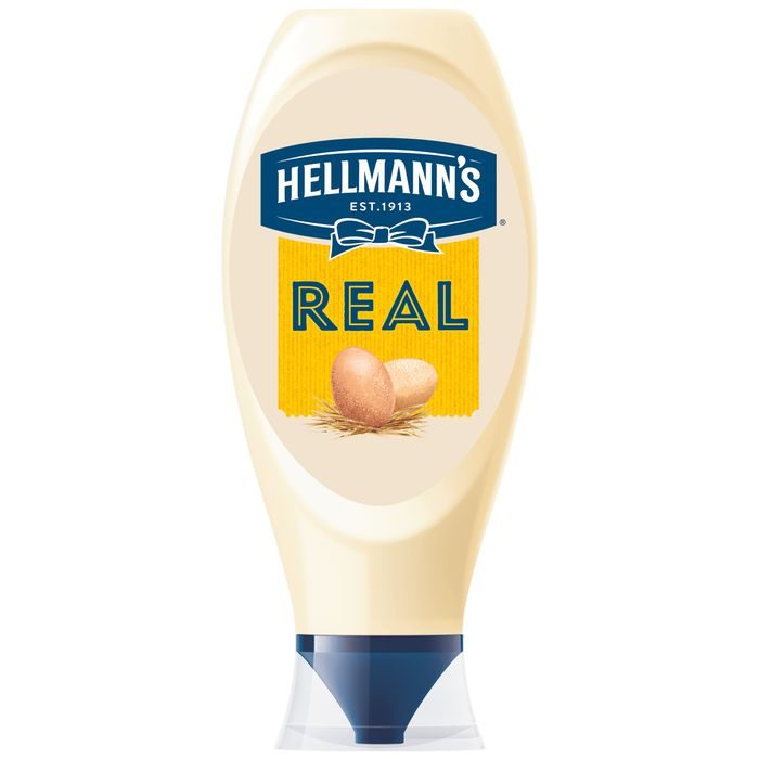 Hellmann's Real Squeezy Mayonnaise 750Ml