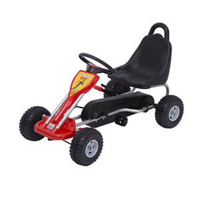Deluxe Kids Pedal Racing Car Go Kart Only £40.99