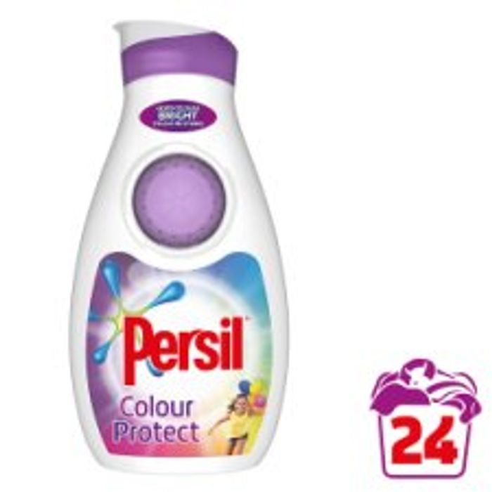 Persil Biological, Non Biological or Colour Washing Liquid 24 Wash - Half Price