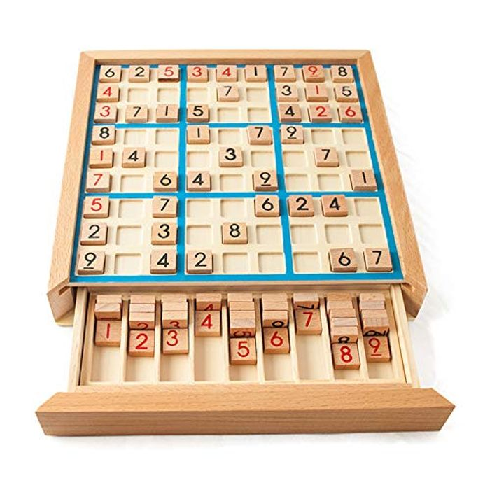 50% off Wooden Sudoku Puzzle Board