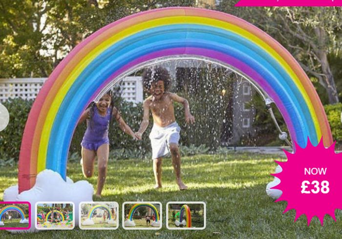Giant Inflatable Rainbow Sprinkler Only £38