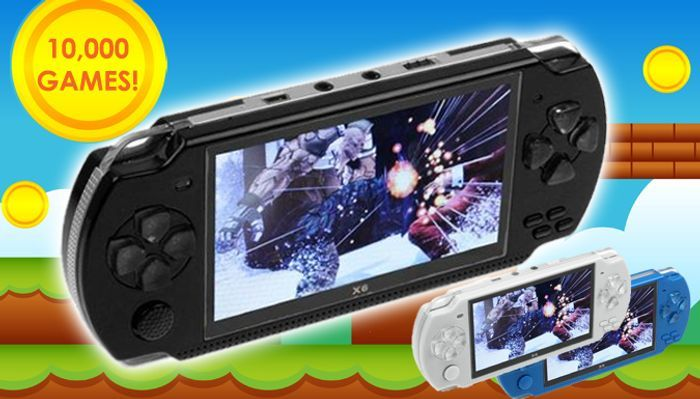 Handheld Games Console With 10,000 Games + Earphones £22.99 Delivered