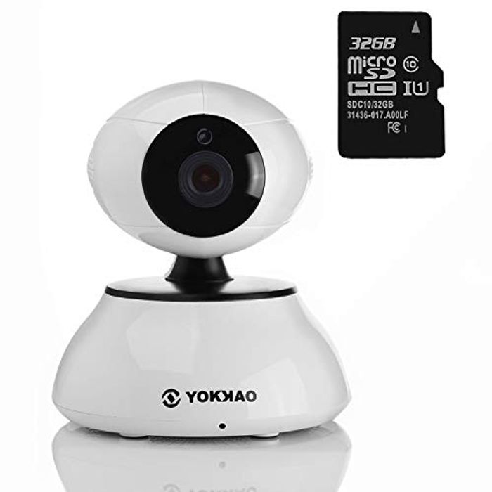 WiFi IP Camera - Peace of Mind for £14.11