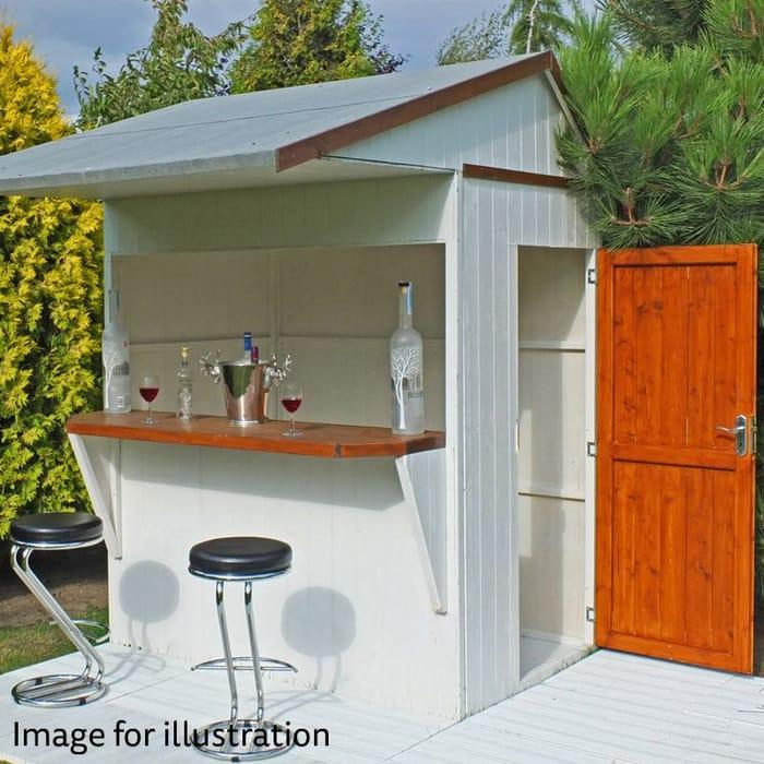 Make Your Own Pub! Garden Bar / Shed Only £426.54 Delivered