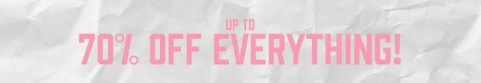 Exclusive Extra 20% off Orders in the up to 70% off Sale at Boohoo