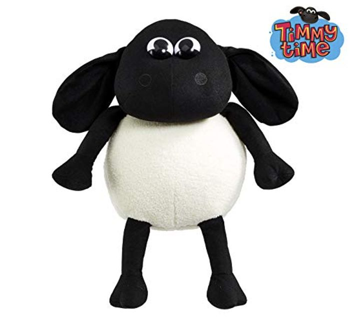 Timmy Lamb Plush for Kids Aged 3+, White