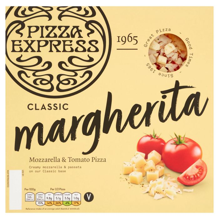 Cheap Pizza Express Margherita Pizza 245g - Only £2.5!