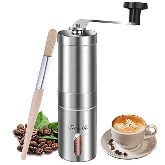 Manual Coffee Grinder, Burr Coffee Grinder