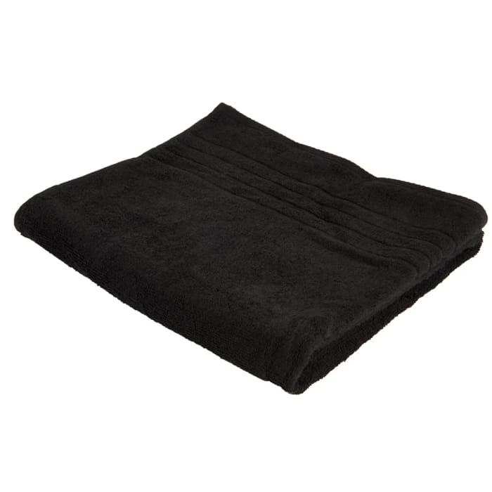 Wilko Black Bath Towel
