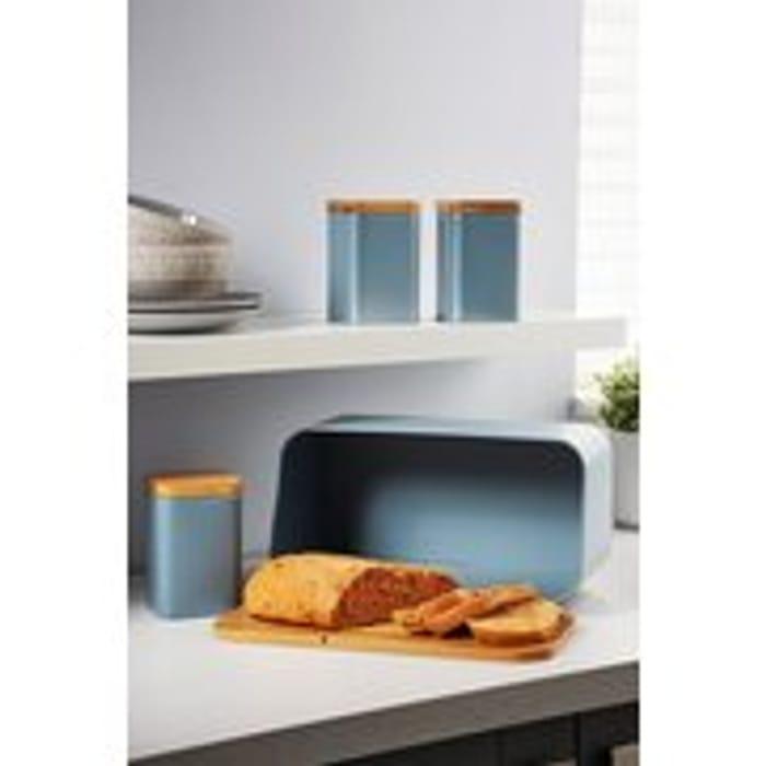 Salter Metallic 4 Piece Kitchen Storage Set