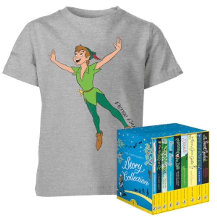 Disney T-Shirt & Puffin Book Set Bundle