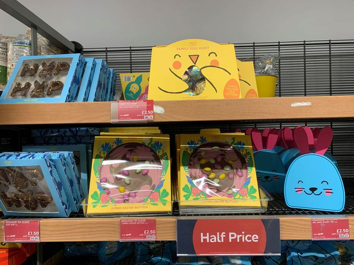 M&S Half Price for All Easter Chocolate & Eggs