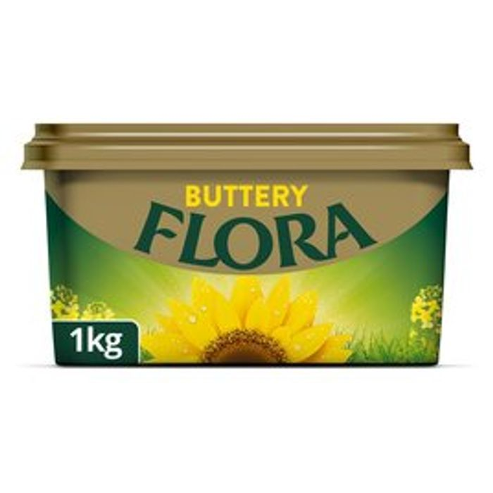 Flora Buttery Spread 1kg at Morrisons