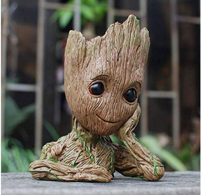 Baby Groot Flower Pot Figurine with Free Delivery