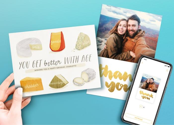 Send a FREE Card via FreePrints Cards (App Download)
