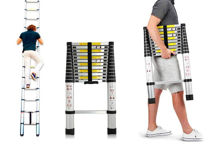 Telescopic Ladder - 4 Sizes!