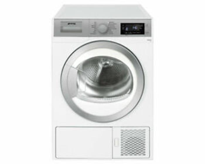 Smeg DHT81LUK White 8KG Heat Pump Condenser Tumble Dryer Only £368.99