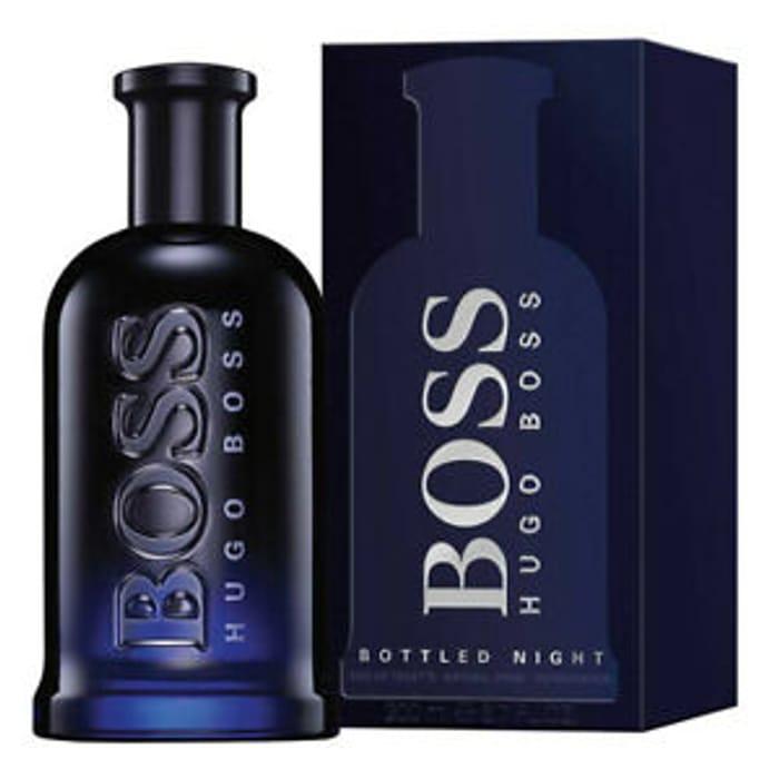 Hugo Boss Bottled Night Eau De Toilette 200ml Only £41.5