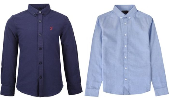 Farah Kids Oxford Shirt