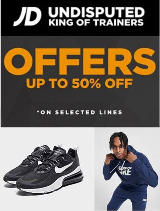 Special Offer Jd Sports Sale Up To 50 Off Nike Latestdeals Co Uk
