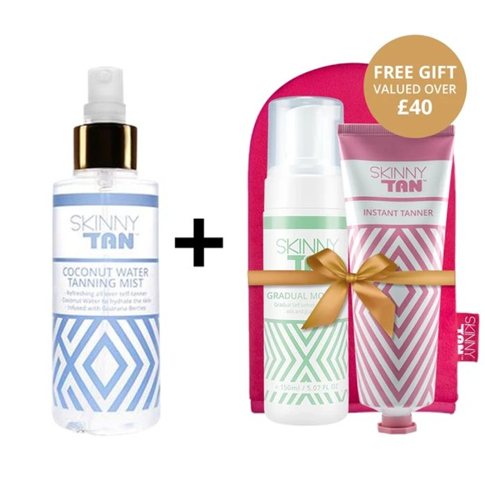 Coconut Water Tanning Mist + Glow Time Gift Pack!