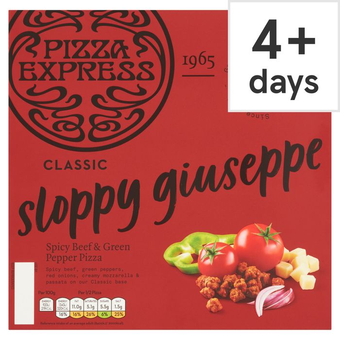 Pizza Express Sloppy Giuseppe Pizza 305G