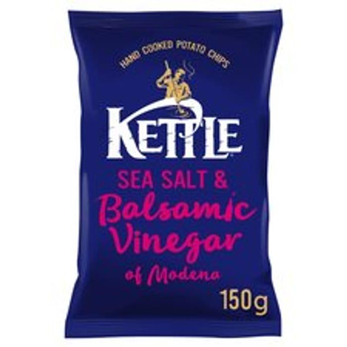 Kettle Chips Sea Salt & Balsamic Vinegar 150G