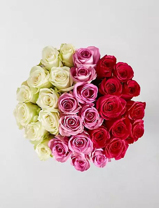 Marks and Spencer - Rose Trio Bouquet - 30 Roses