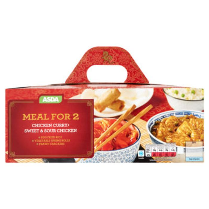 ASDA Chinese Chicken Curry and Sweet & Sour Chicken Meal for 2