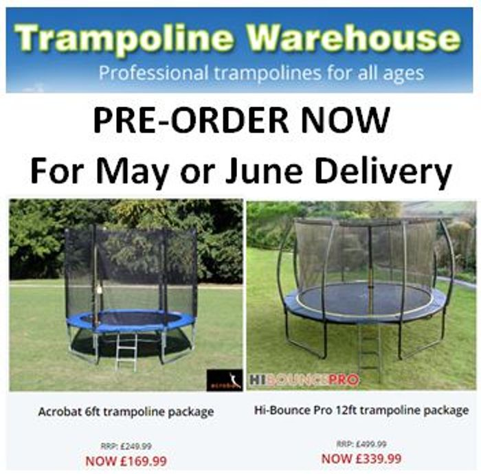 Trampoline Warehouse - TRAMPOLINES