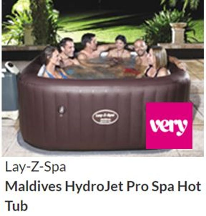Lay-Z-Spa Maldives