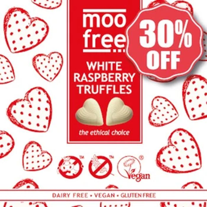 Save 30% on Dairy Free White Chocolate Truffles