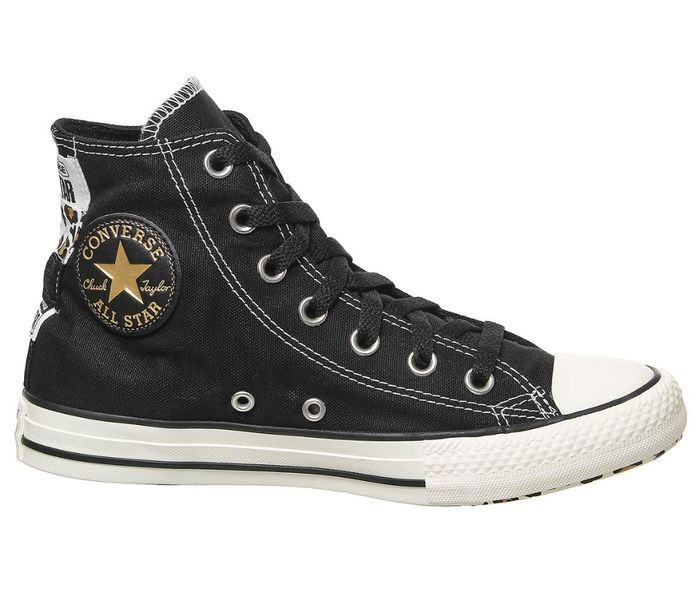 Converse All Star Hi Trainers Black