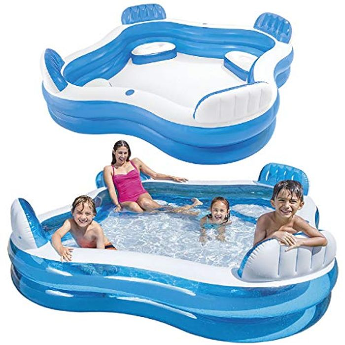 Intex Swim Centre Family Pool with Seats