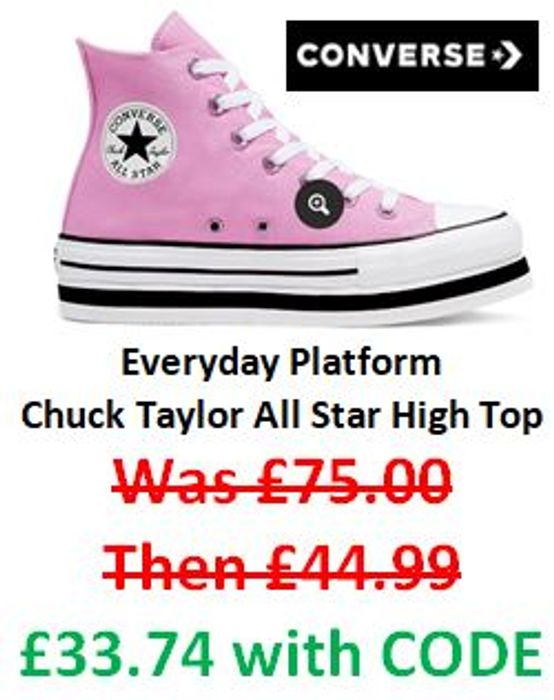 OFF Converse Sale Prices